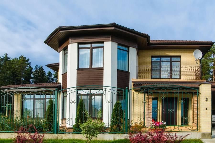Красивый цвет фасада или как покрасить дом в2019 году (сфото)