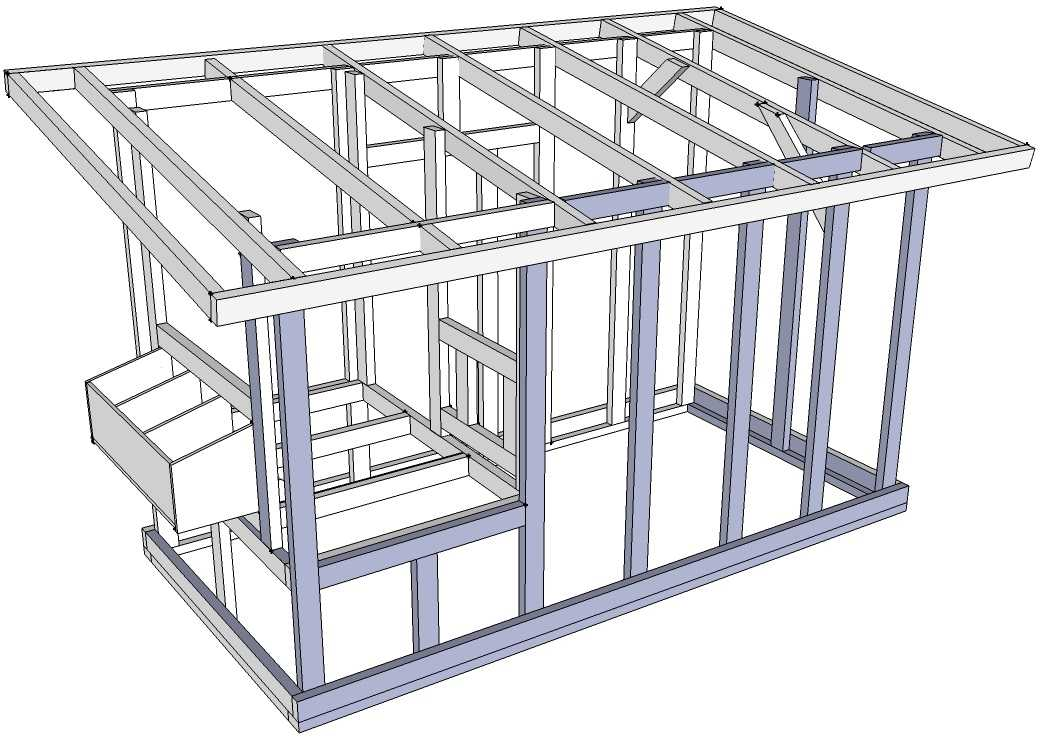 Мини-курятник: проекты, постройка и обустройство