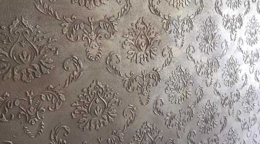 Рельефная штукатурка стен своими руками