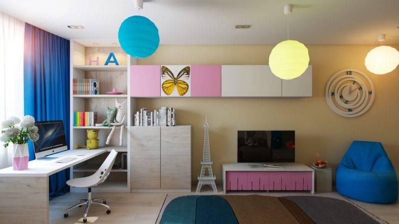 Освещение в детской - как организовать правильно с фото примерами