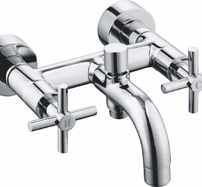 Излив для смесителя: гусак в ванной, модели с гибким и двойным изливом размером 45 и 40, 35 см