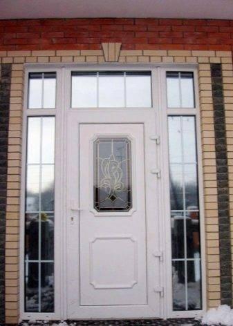 Размер входной двери в частном доме: стандартные высота и ширина железных, металлических дверей