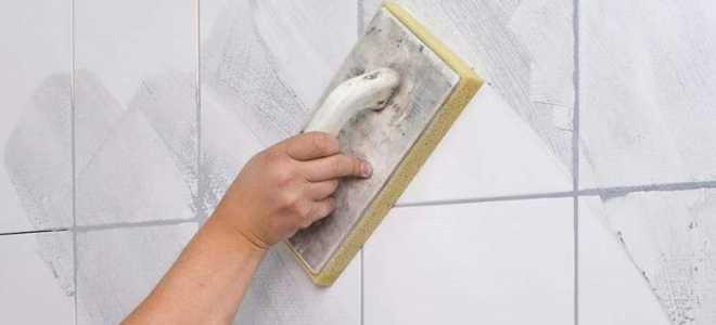 Затирка швов плитки в ванной и на кухне – как правильно затирать швы на кафельной плитке