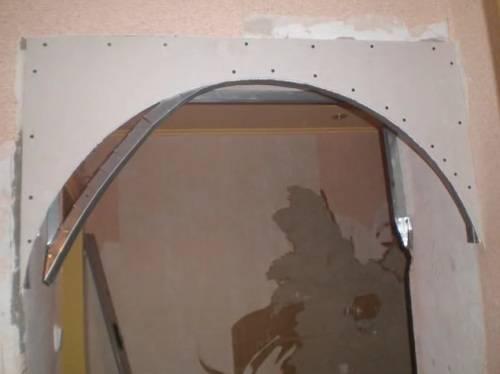 Межкомнатные арки из гипсокартона, дерева, кирпича своими руками: фото, видео установки и отделки