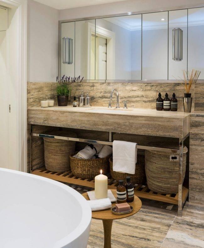 Дизайн ванной 5 кв м : лучшие идеи планировки (+ фото)