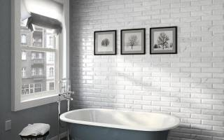 Плитка «кабанчик» в ванной (44 фото): дизайн интерьера ванной комнаты с белой, серой и другого цвета плиткой. плюсы и минусы отделки