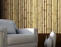 Уникальность отделки стен обоями из бамбука: плюсы технологии и этапы работ