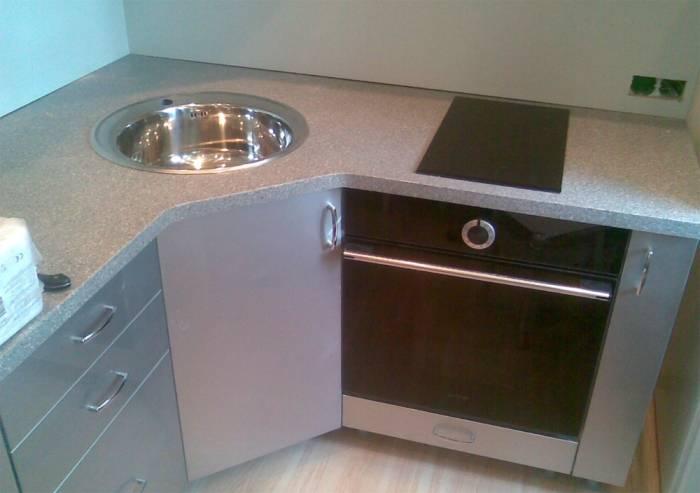 Угловая тумба под мойку для кухни | виды и правила выбора | фото