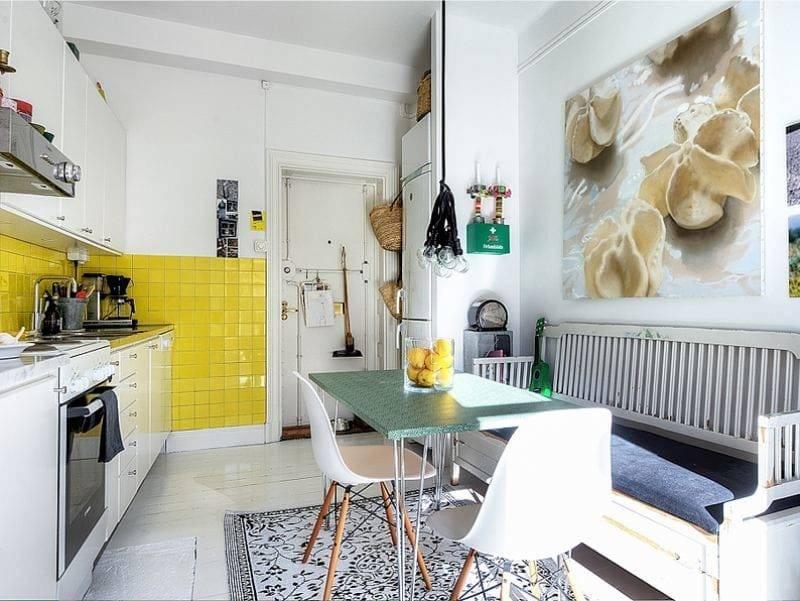 Какой ковер можно постелить на кухне: форма, размер, фактура, расцветка, материал