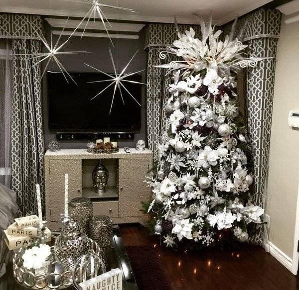 Крутые идеи декора дома на новый год 2021: модные новогодние украшения дома на 100+ фото