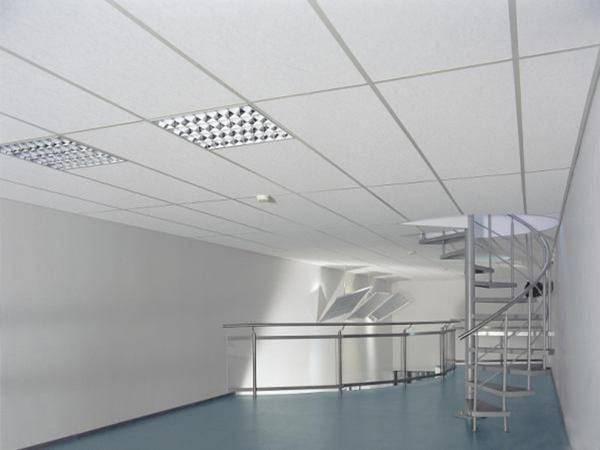 Как сделать интересным потолок армстронг?