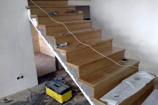 Монолитные лестницы из бетона: виды, расчет, этапы монтажа