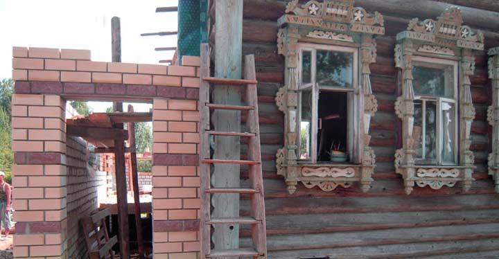 Пристрой к деревянному дому - чертежи постройки и правила оформления пристроек