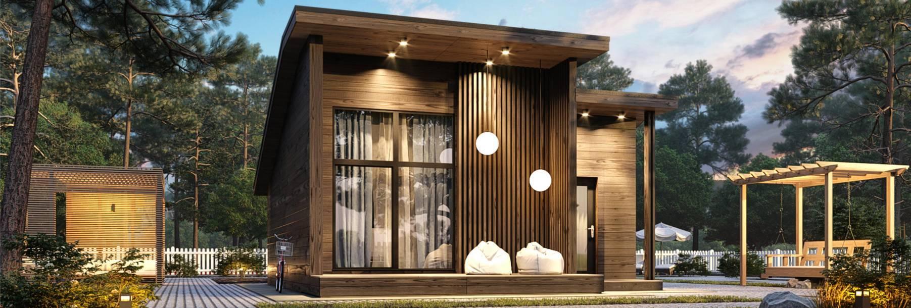 Виды быстровозводимых объектов: сборные дома, бытовки, постройки из монолитной опалубки