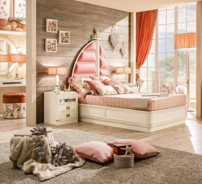 Детская в морском стиле — стильные варианты дизайна и примеры оформления современной детской комнаты (100 фото-идей)