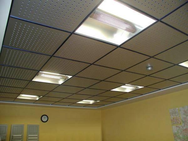 Как сделать монтаж потолка армстронг - технология устройства, подробно на фото и видео