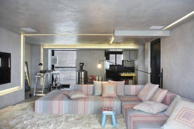 Дизайн квартиры-студии: 80 трендов для создания современного и мультифункционального интерьера