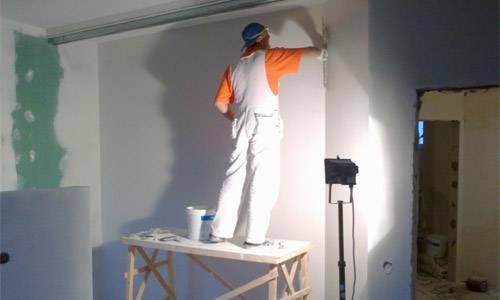 Выравнивание стен шпаклевкой: как ровнять своими руками