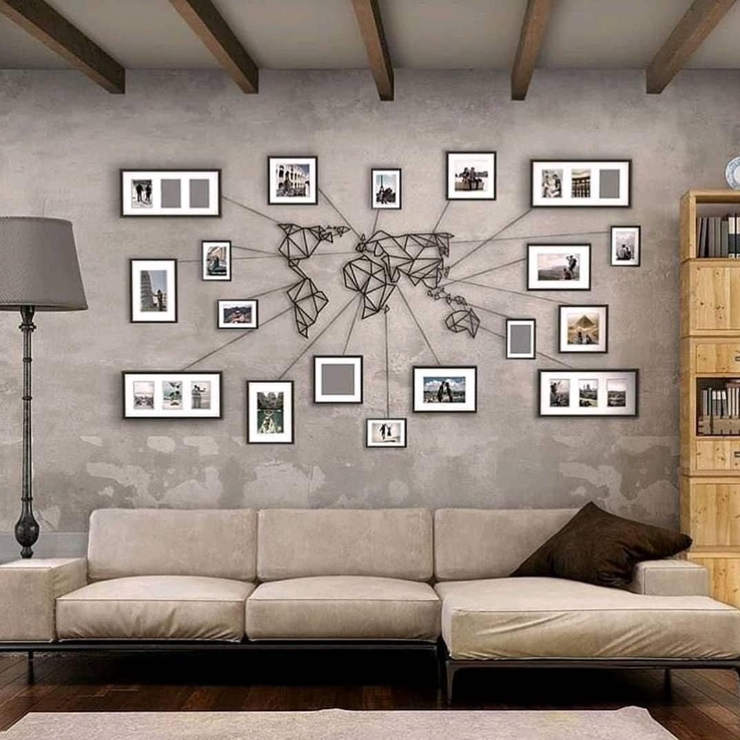 Наклейки на стены в интерьере кухни, спальни и прихожей