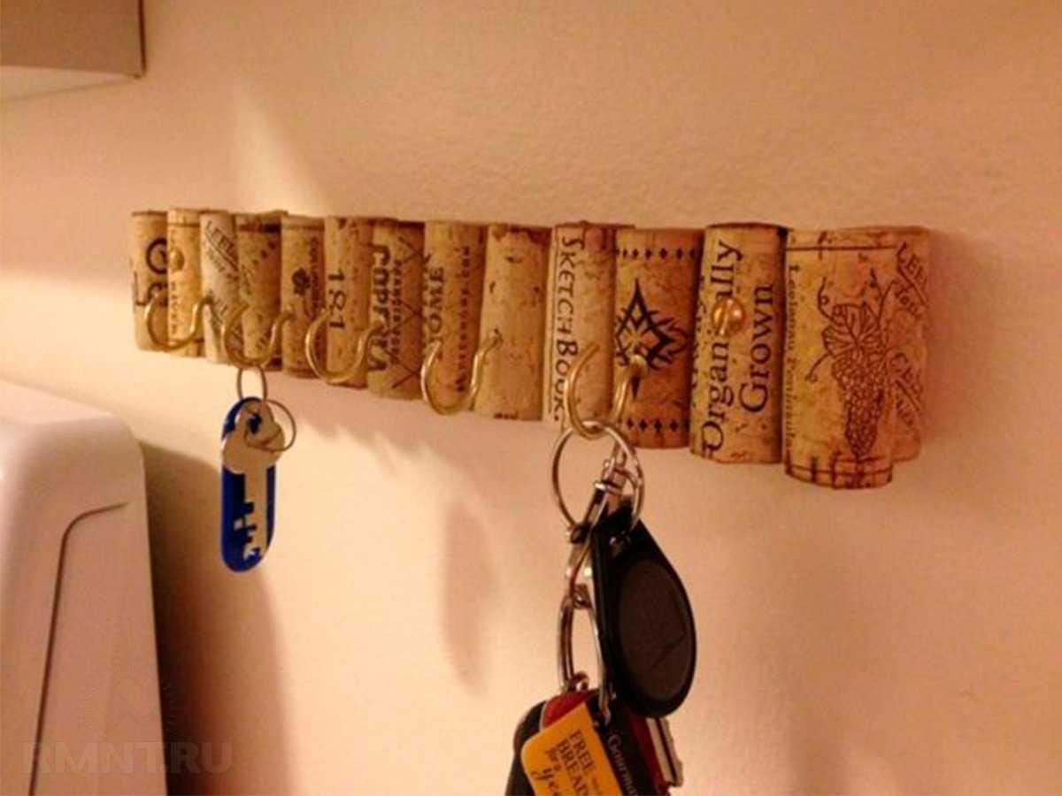 Настенная деревянная ключница – мастер-класс пошагово
