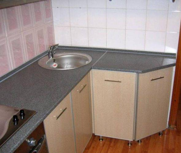 Угловой шкаф для мойки на кухню: размеры кухонного шкафа своими руками