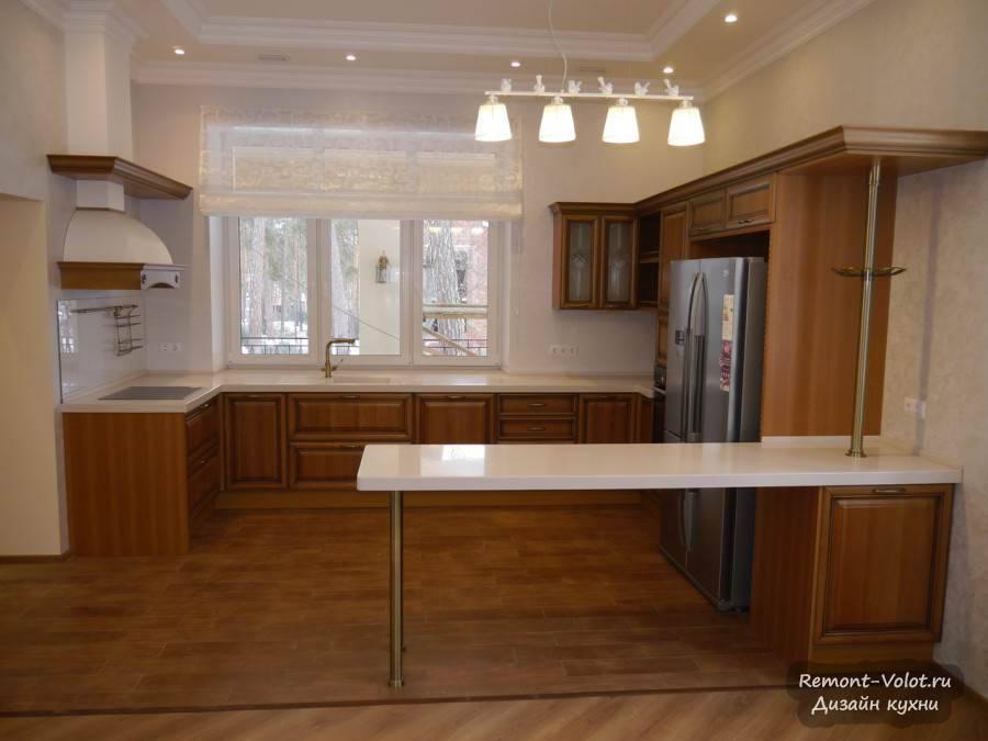 Кухня с раковиной у окна — дизайн и особенности размещения (+50 фото идей)