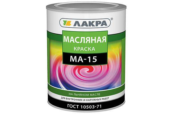 Масляная краска ма 15, пф 115