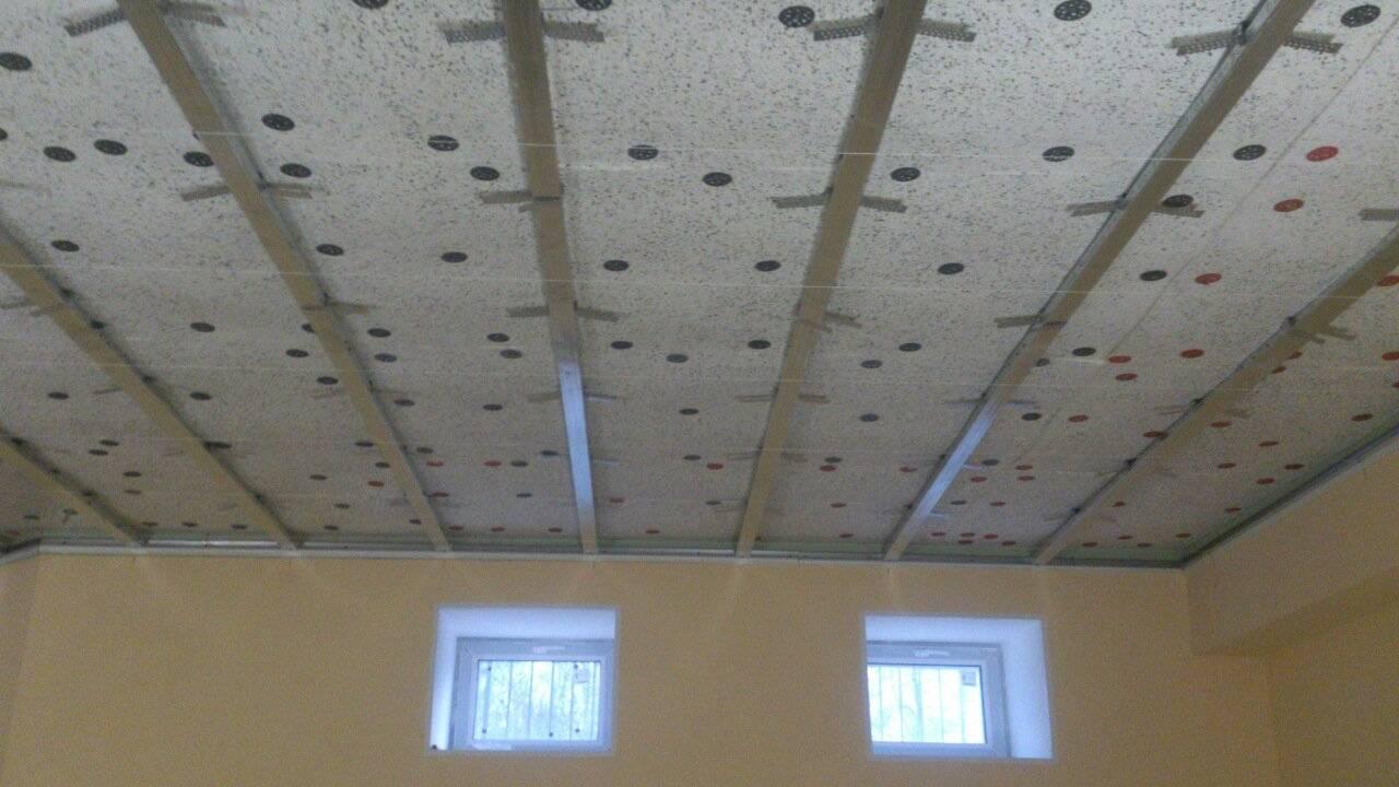 Шумоизоляция потолка в квартире: современные материалы