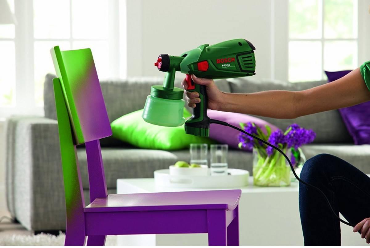 Электрический краскопульт для всех видов краски: рейтинг лучших моделей для дома и дачи