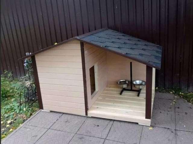 Инструкция, как сделать будку для собаки своими руками, чертежи и фото