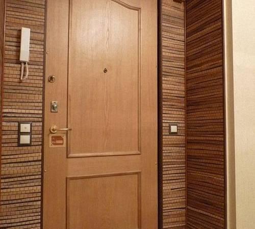 Отделка дверного проема после установки железной двери - только ремонт своими руками в квартире: фото, видео, инструкции