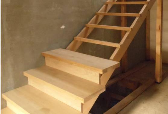 Изготовление деревянной лестницы своими руками: руководство