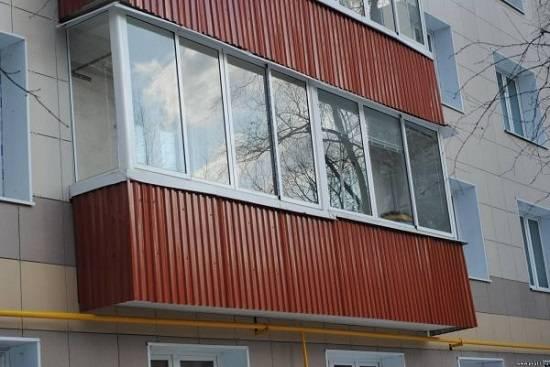 Наружная отделка балкона своими руками пошаговая инструкция - клуб мастеров