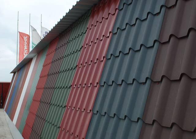 Названия цветов металлочерепицы для крыши