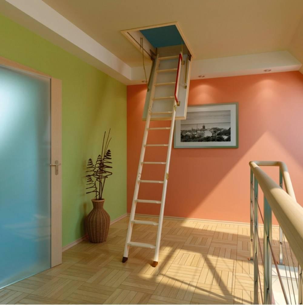 Лестница на чердак своими руками - инструкция
