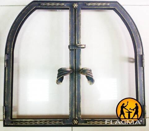 Самая лучшая каминная дверца со стеклом — подробно