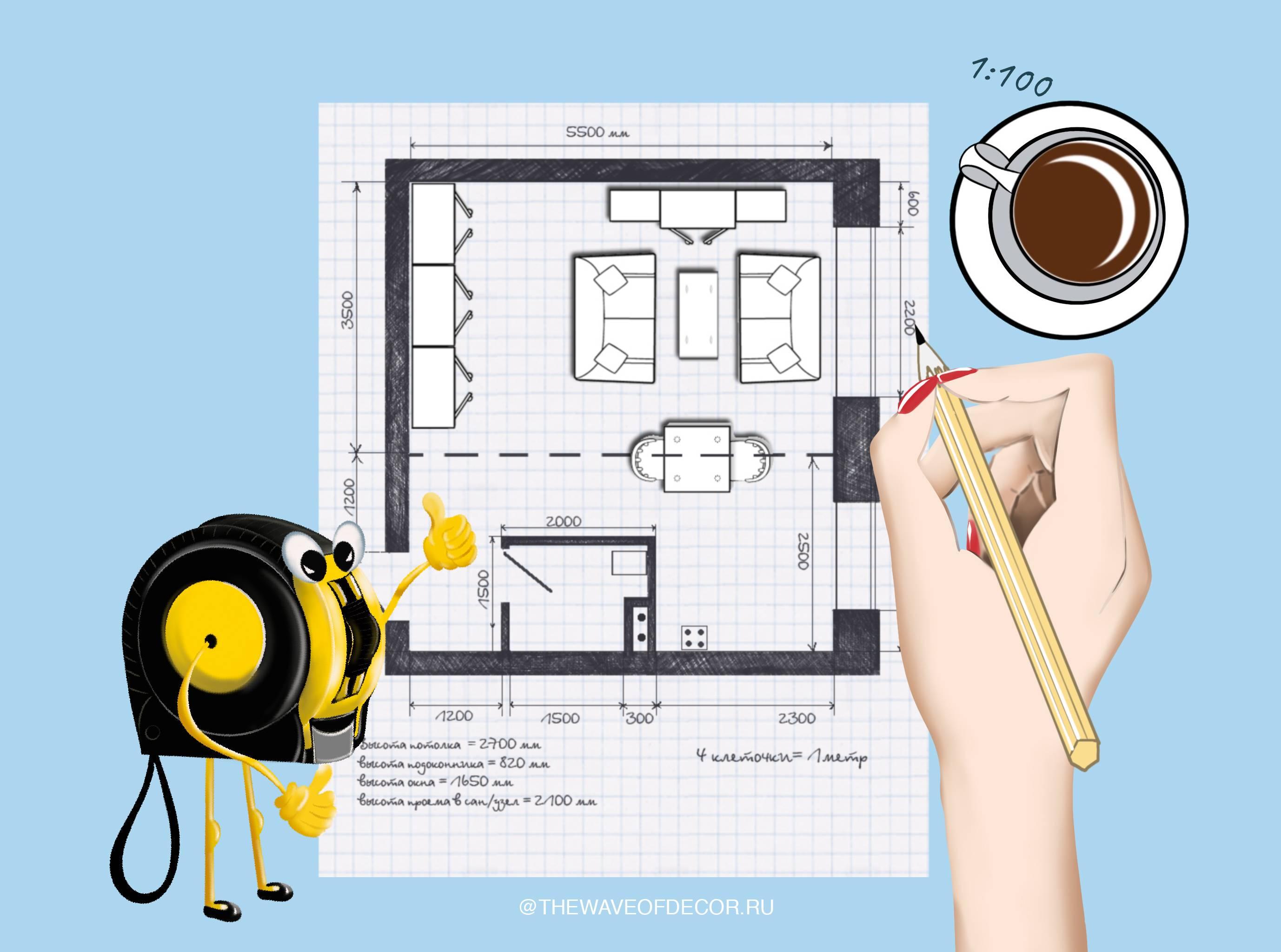 План дома: как делать проект, создания чертежа