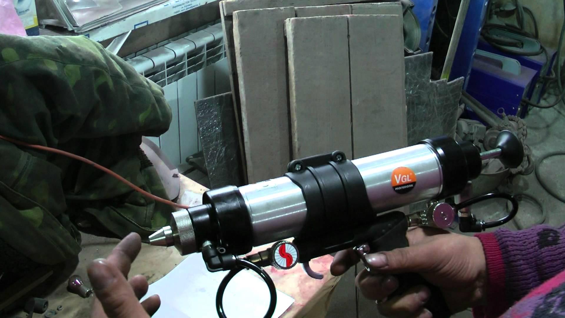 Как вставить герметик в пистолет, что это за устройство и как оно выглядит