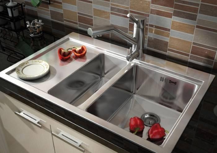 Размер мойки для кухни - справка для покупателя (с фото)