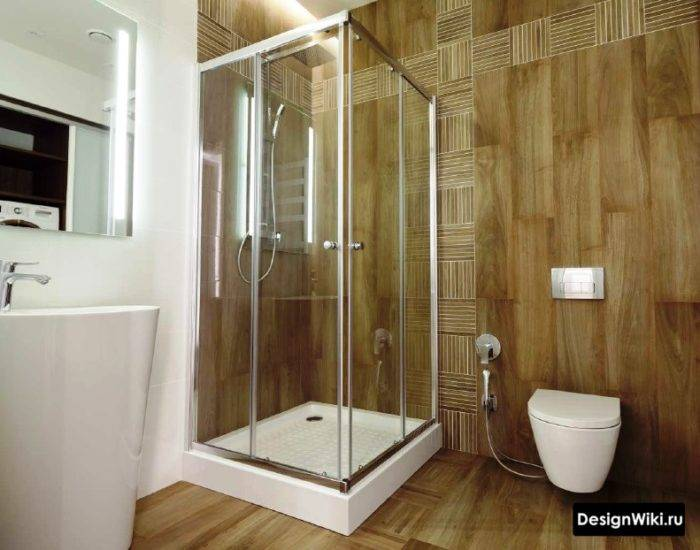 Дизайн ванной комнаты и раскладка плитки