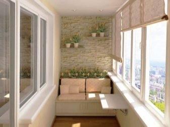 Обустройство балконов  (164 фото): пристройка с нуля, размер балкона в хрущевке