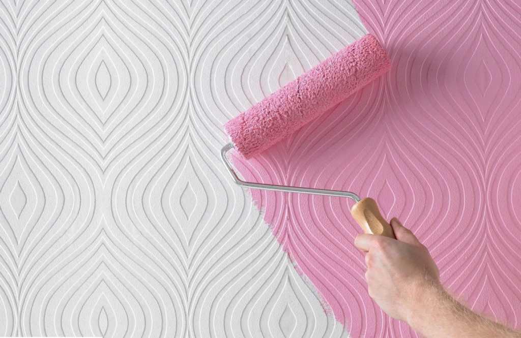 Краска для обоев: 100 фото лучших типов покрытий для стен
