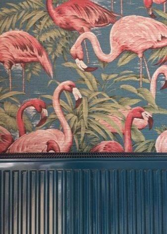 Дизайнерские обои (37 фото): обои для стен от дизайнеров, модели с птицами в интерьере