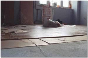 Технология укладки ламината на бетонный пол - только ремонт своими руками в квартире: фото, видео, инструкции