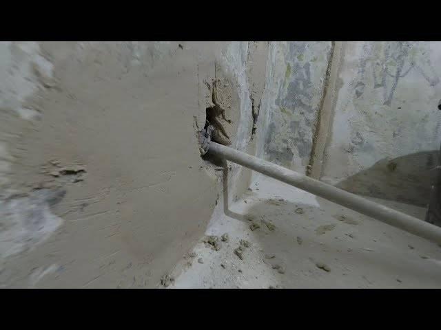 Чем заделать дыры в бетонной стене: фото и видео инструкция проведения работ, необходимые инструменты