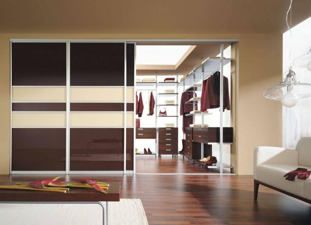 Дверь-зеркало в гардеробную: зеркальные складные конструкции