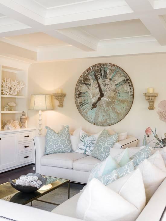 Часы настенные для гостиной красивые большие оригинальные идеи дизайна современных настольных с телевизором в интерьере