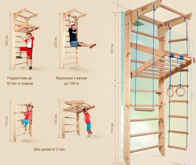 Детский спортивный комплекс для дома: 9 советов по выбору детского спортивного уголка