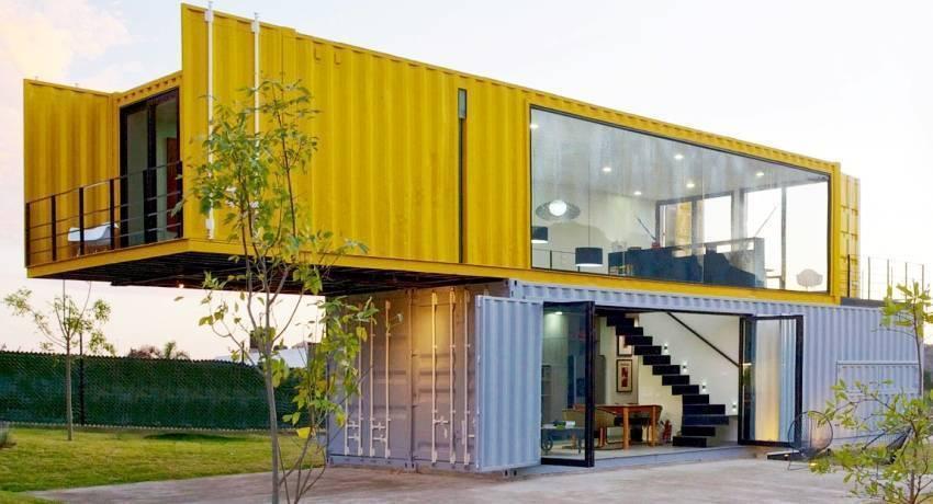 Дом из контейнеров - отзывы, плюсы и минусы, проекты дома из морских контейнеров