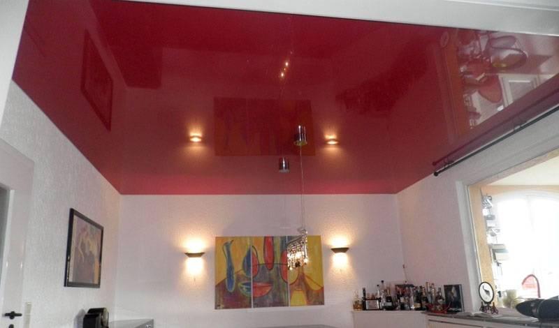 Натяжные потолки пвх: характеристики, плюсы и минусы.